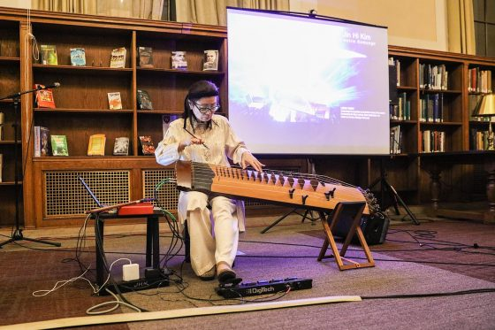 Library concerts featured in The Wesleyan Connection (photos and videos)