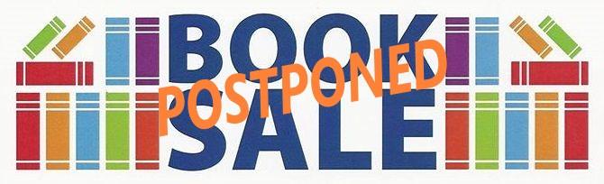 Book sale postponed